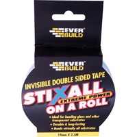 Everbuild Stixall On A Roll Double Sided Tape