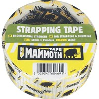 Everbuild Strapping Tape Clear
