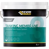 Everbuild Aquaseal Waterproof Tanking Membrane