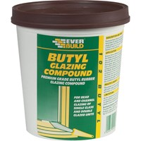 Everbuild Butyl Glazing Compound