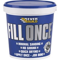 Everbuild Ready Mix Fill Once Tub