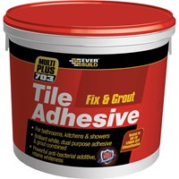 Everbuild Mould Reistant Fix and Grout Tile Adhesive