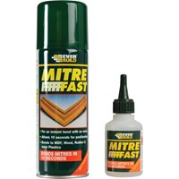 Everbuild Mitre Fast Glue & Activator Bonding Kit