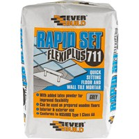 Everbuild Rapid Set Flexiplus Tile Adhesive