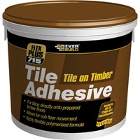 Everbuild Tile on Timber Tile Adhesive