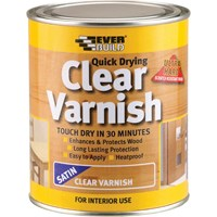 Everbuild Quick Drying Wood Varnish