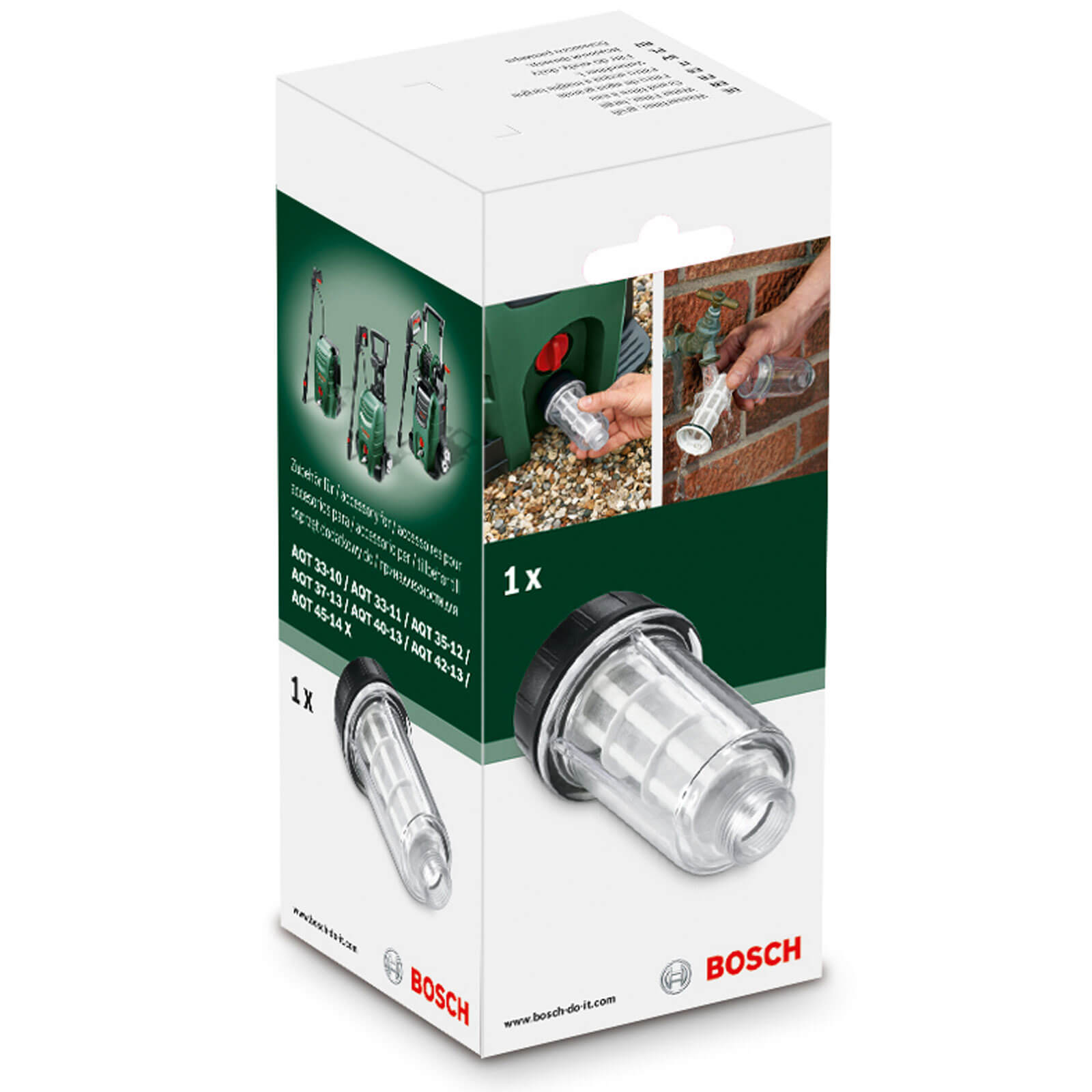 Bosch Large Water Filter for AQT Pressure Washers