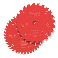 Freud PRO 2 Piece 165mm Cordless Circular Saw Blade Set