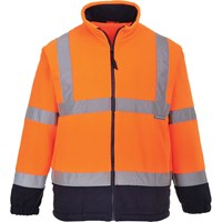 Portwest 2 Tone Hi Vis Fleece Jacket