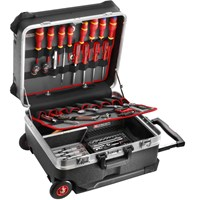 Facom Trolley Tool Case + 122 Piece Service Tool Set