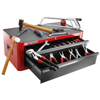 Facom 2 Drawer Tool Chest and 142 Piece Mechanical Tool Kit