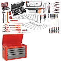 Facom 4 Drawer Tool Chest & 168 Piece Mechanical Tool Kit