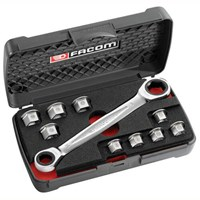 Facom 11 in 1 Ratchet Spanner Maintenance Set Metric
