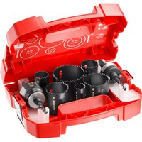 Facom 11 Piece Variable Pitch Hole Saw Set