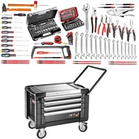 Facom 4 Drawer Rolling Tool Chest + Tools