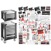 Facom JET+ 12 Drawer Roller Cabinet & Tool Chest + Tool Kit