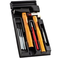 Facom 7 Piece Hammer, Chisel & Punch Set in Module Tray
