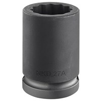 "Facom 3/4"" Drive Bi Hexagon Impact Socket Metric"
