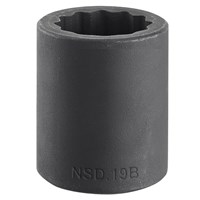 "Facom 1/2"" Drive Bi Hexagon Impact Socket Metric"