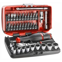 "Facom 38 Piece 1/4"" Drive NANO Socket & Bit Set"