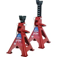 Faithfull Axle Stands Quick Release Ratchet Ajustment