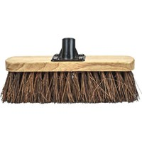 Faithfull Threaded Socket Bassine Broom Head Varnished 12""
