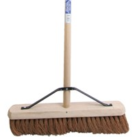 Faithfull Soft Coco Broom and Handle and Stay
