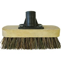 Faithfull Threaded Socket Deck Scrub Broom Head 7""