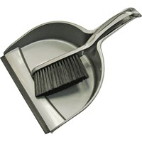 Faithfull Plastic Dustpan & Brush Set