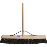 "Faithfull PVC Broom 24"" and Handle"