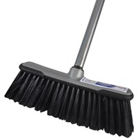 "Faithfull Soft Broom 12"" and Handle"