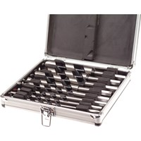 Faithfull 8 Piece Combination Auger Drill Bit Set