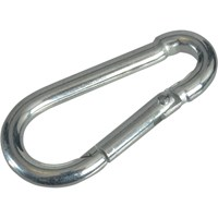 Faithfull Zinc Plated Fire Brigade Snap Hook Carabiner