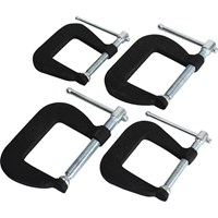 Faithfull 4 Piece Forged G Clamp Set