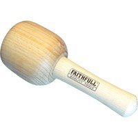 Faithfull Wooden Carvers Mallet