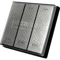 Faithfull 3 Piece Diamond Whetstone Set
