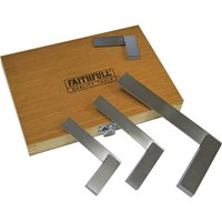 Faithfull 4 Piece Engineers Square Set