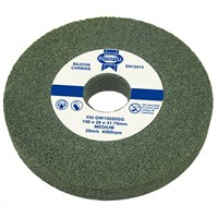 Faithfull Green Silicone Carbide Grinding Wheel