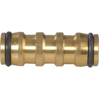 Faithfull 2 Way Brass Hose Coupling
