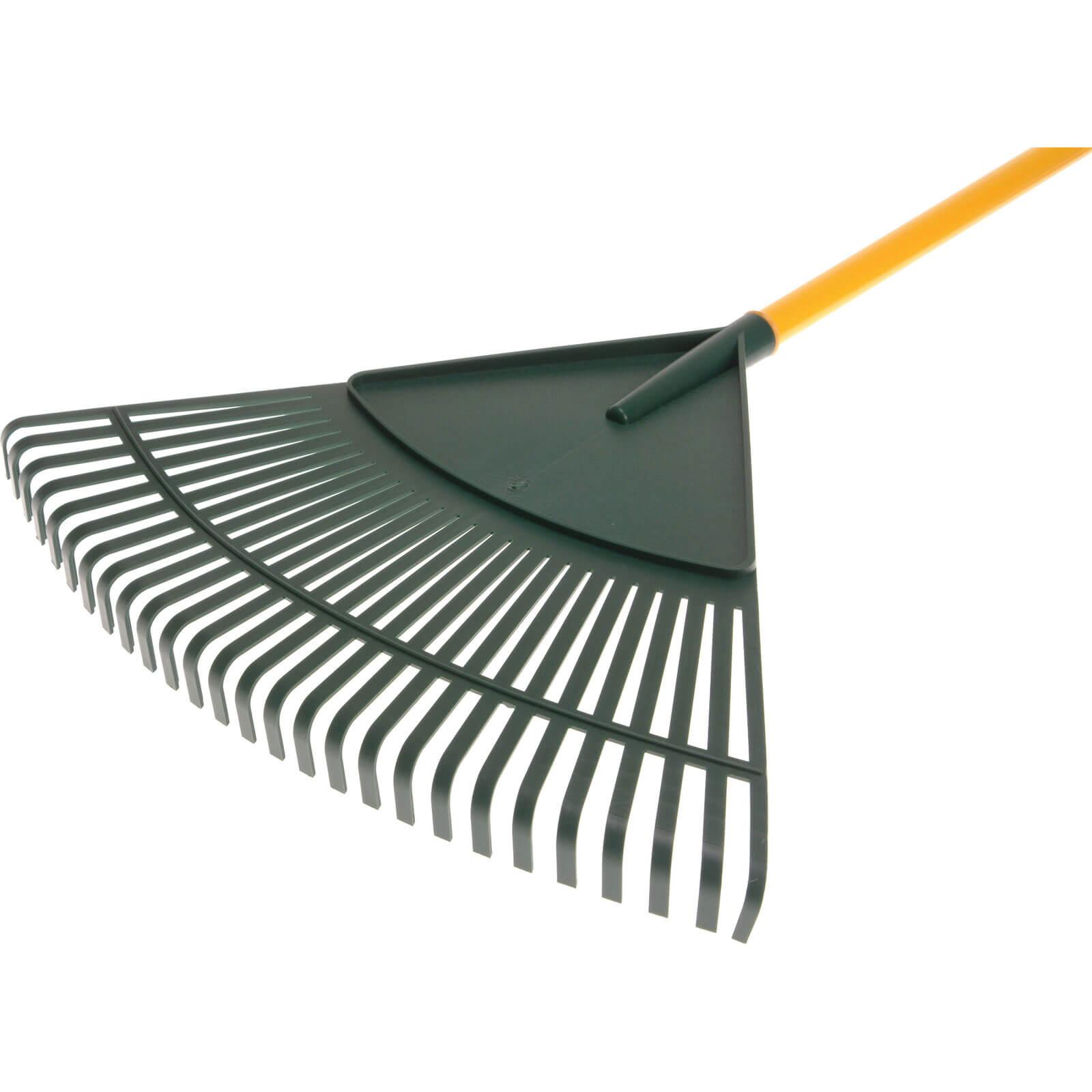 Faithfull Fibreglass Handled Leaf Rake