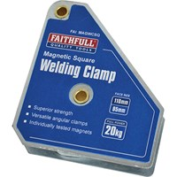 Faithfull Welding Magnet Square