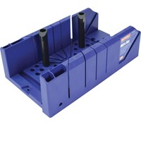 Faithfull Plastic Mitre Box and Clamping Pegs