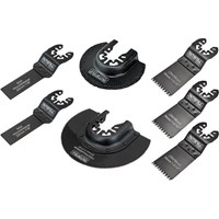 Faithfull 7 Piece Oscillating Multi Tool Blade Set
