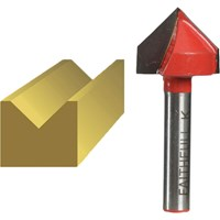 Faithfull V Groove Router Bit