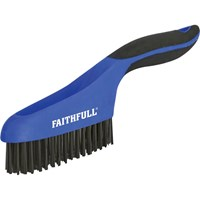 Faithfull Steel Wire Scratch Brush
