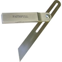 Faithfull Stainless Steel Sliding Bevel