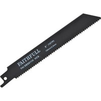 Faithfull S918E Metal Reciprocating Saw Blades