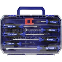 Faithfull 7 Piece Screwdriver Set & Magnetizer