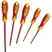 Faithfull 5 Piece VDE Insulated Screwdriver Set