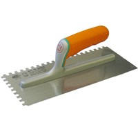 Faithfull Soft Grip Notched Trowel
